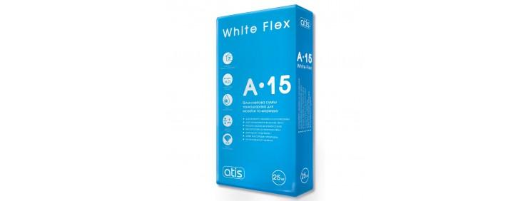 Клей для плитки Atis A-15 White Flex 25кг