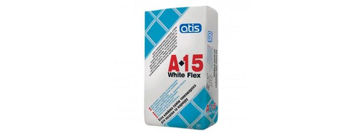 Клей для плитки Atis A-15 White Flex 10кг