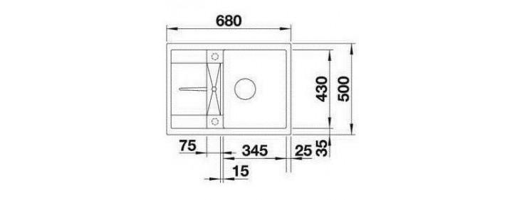 Кухонная мойка Blanco 519572