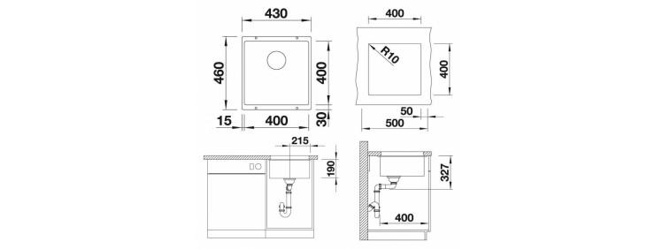Кухонная мойка Blanco 523422