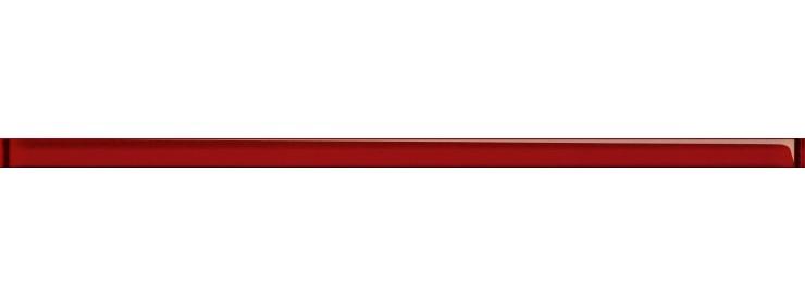 Фриз Cersanit Rubi Glass Red Border