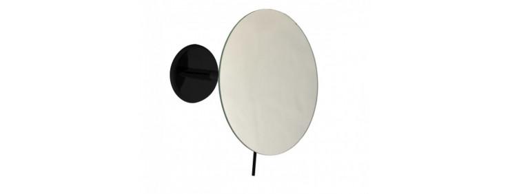 Зеркало косметическое радиус 180мм Emco Loft Black 1094 133 02