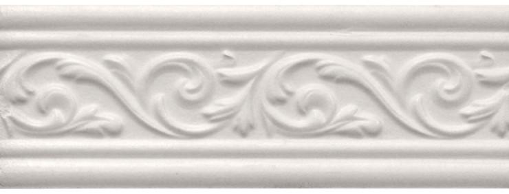 Фриз Интеркерама Arabesco белый БШ 131 061