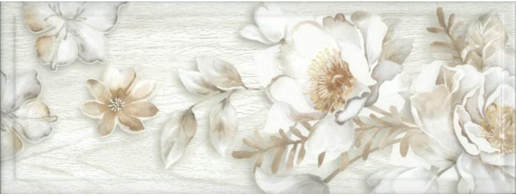 Декор Интеркерама Blanco серый Д 181 071
