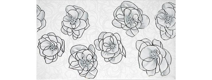 Декор Интеркерама Brina серый Д 23 071