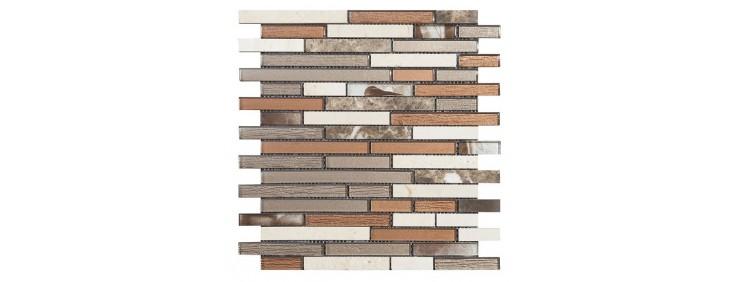Мозаика Intermatex Brick Brown