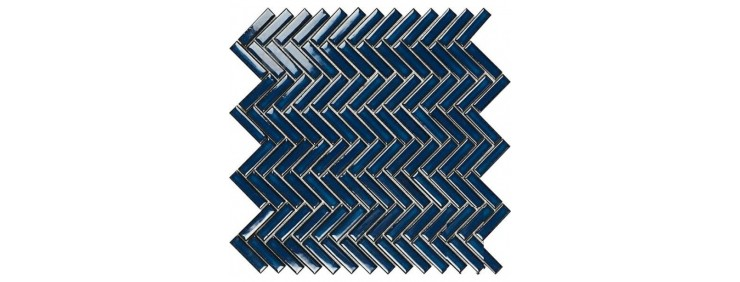 Мозаика Intermatex Chevron Blue