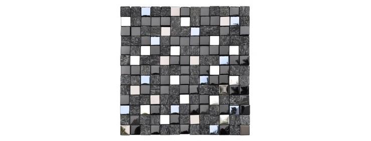 Мозаика Intermatex Cubik Black