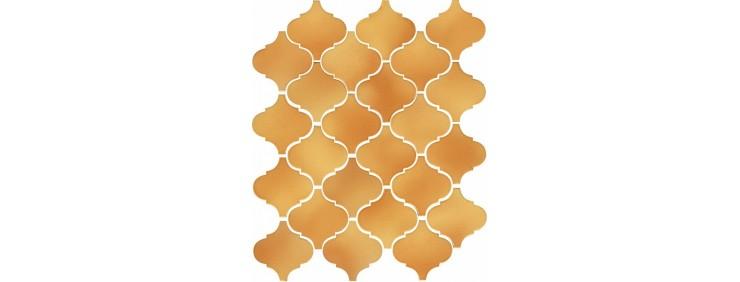 Плитка Kerama Marazzi Арабески Майолика Желтый 65009