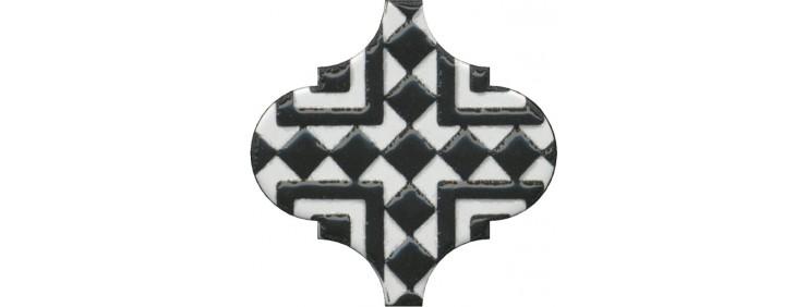 Декор Kerama Marazzi Арабески глянцевый OS\A25\65000