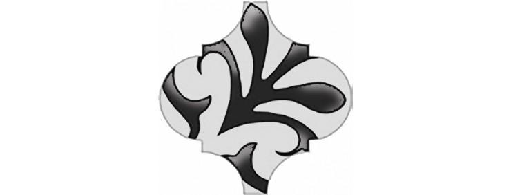 Декор Kerama Marazzi Арабески глянцевый OS\A33\65000