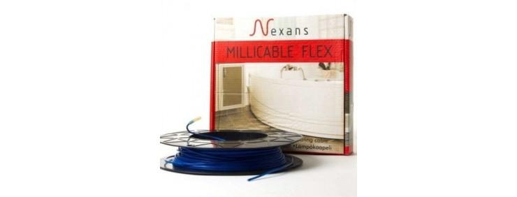 Кабель нагревательный тонкий двужильный Nexans Millicable Flex 15 1500 W