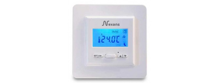 Терморегулятор програмований Nexans N-COMFORT TD