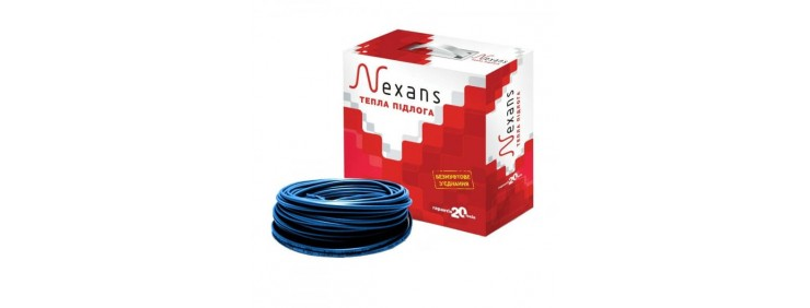 Двужильный нагревательный кабель Nexans TXLP/2R 600/17